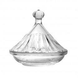 Bomboniere De Vidro Glass Ware Com Tampa