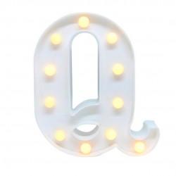 Luminária Letra Q