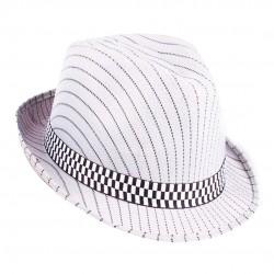 Chapéu Masculino Panamá Listrado