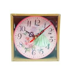 Relógio De Mesa Flores Sortidos