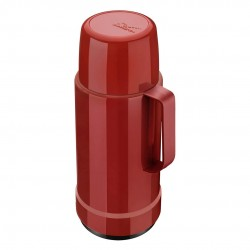 Garrafa Galant De Rosca 1 Litro Vermelha