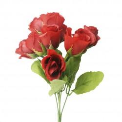 Buquê De Rosas Marsala 10 Unidades