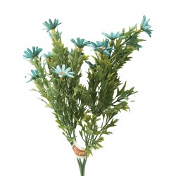 Buquê De Margaridas X15 Azul Outono
