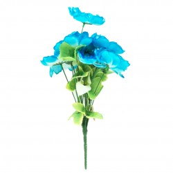 Buquê De Rosas Azul Cabbage
