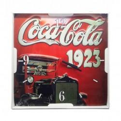 Relógio De Parede Quadrado Coca Cola Vintage