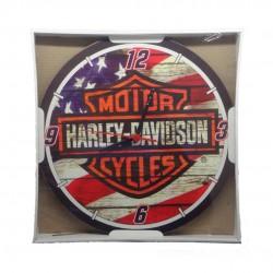 Relógio De Parede Redondo Harley