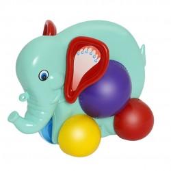 Elefante Colorido Didático