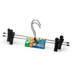 Conjunto Cabides De Saia 2 Peças Pretos