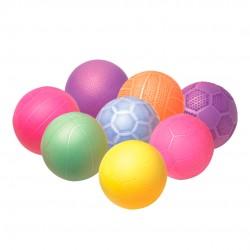 Bola Mini Frisada Com 12 Peças