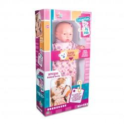Boneca Bebê By Milk Negra