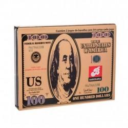 Baralho Dollar Com 2 Jogos De 54 Cartas