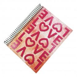 Caderno 10x1 200 Folhas Love