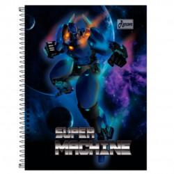 Caderno 12x1 240 Folhas Super Machine