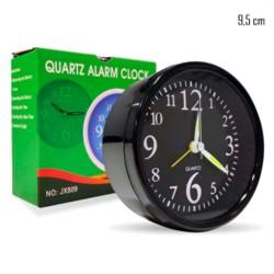 Relogio De Mesa Alarme Quartz 9,5cm
