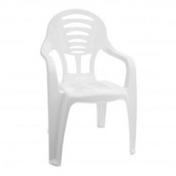 Cadeira Infantil Branca Com Braço