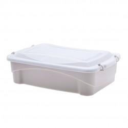 Caixa Organizadora Pratic Box Creme