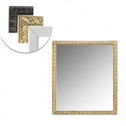 Espelho De Pendurar Emoldurado Quadrado 38X33CM