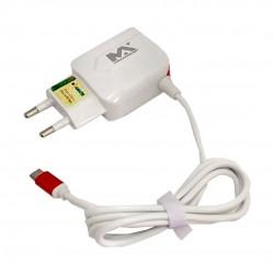 Carregador Rápido Micro USB Com 2 Saídas USB 3.6A