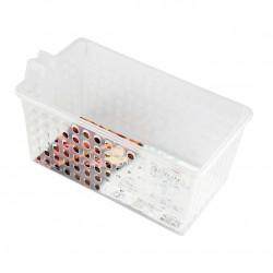 Cesto Organizador Plástico Para Geladeira/Armário