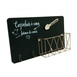 Porta Objetos Cozinha Com Porta Chaves