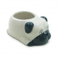 Cachorro Decorativo De Cerâmica