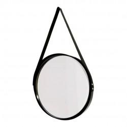 Espelho Decorativo Redondo Com Alça 33cm