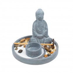 Kit Enfeite Decorativo Jardim Zen