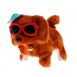 Cachorrinho Com Óculos A Pilha