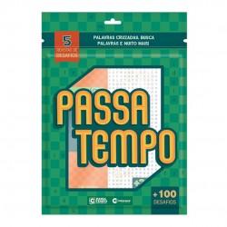 Kit Passa Tempo 5 Revistas De Desafios