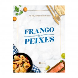 Livro As Melhores Receitas De Frango E Peixes