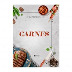 Livro As Melhores Receitas De Carnes