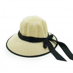 Chapéu Praiano Feminino Laço Preto