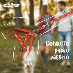 Guia Corrente Para Cães Com Peitoral
