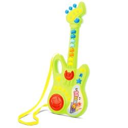 Super Guitarra Infantil Som E Luz