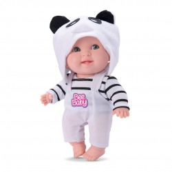 Boneca Bee Baby Bichinhos Panda