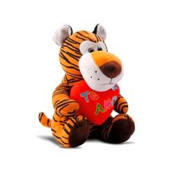 Pelúcia Animais Leão/Tigre/Girafinha Sortidos