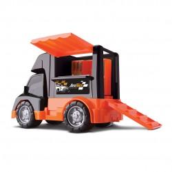 Auto Truck Com Carro de Corrida