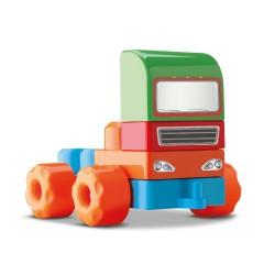 Bloquinho De Montar Truck 56 Peças