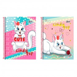 Caderno 15x1 300 Folhas Cindy pop