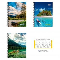 Caderno 15x1 300 Folhas Landscape