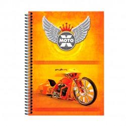 Caderno 20x1 400 Folhas X-Moto