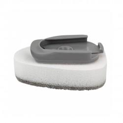 Escova E Esponja Com Dispenser Multiuso 3 Em 1