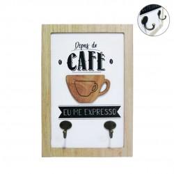 Gancho Decorativo Coffe