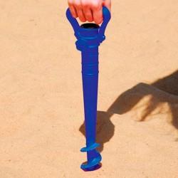 Saca-Areia Com Suporte Para Guarda Sol