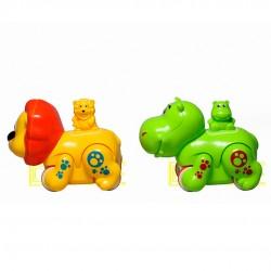 Brinquedo Cachorrinho/ Hipopótamos Á Corda
