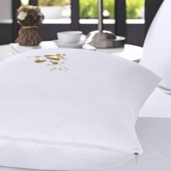 Protetor De Travesseiro Impermeável Protect Malha Slim Branco