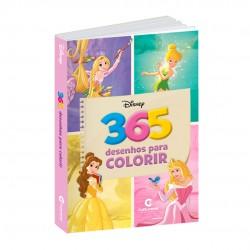 Livro 365 Desenhos Para Colorir Disney Princesas E Fadas