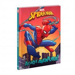 Livro Ação E Aventura Homem-Aranha
