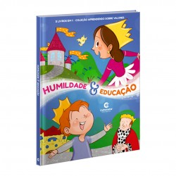 Livro Aprendendo Sobre Valores 2 Em 1 Humildade E Educação