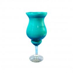 Taça Napoli 35x14cm Azul Turquesa